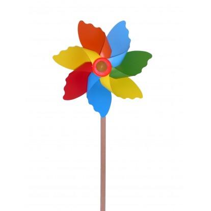 Moulin à vent fleur D. 20 cm