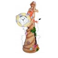 Horloge - Pendule Sirène façon sable