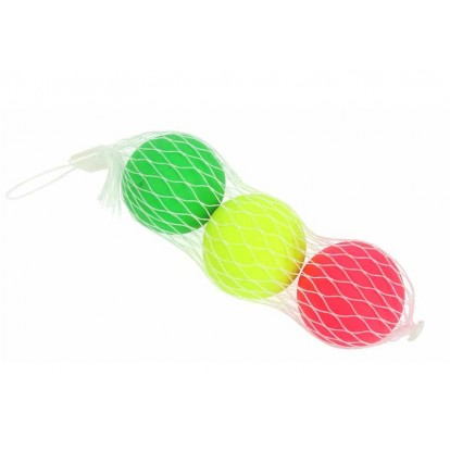 Lot 3 balles beach ball - Raquettes de plage