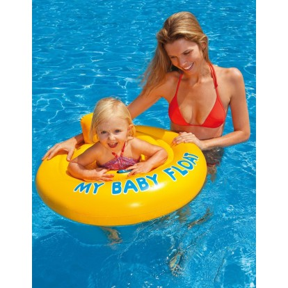 Bouée siège pour bébé 0 à 1 ans - sécurité