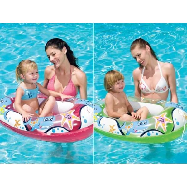 bateau gonflable pour enfant 102 cm articles de plage pas. Black Bedroom Furniture Sets. Home Design Ideas