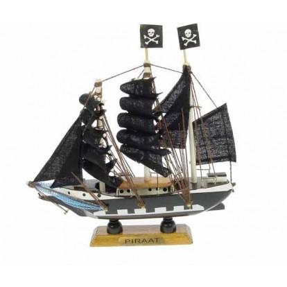 "Maquette voilier ""Pirate"" 16 cm"