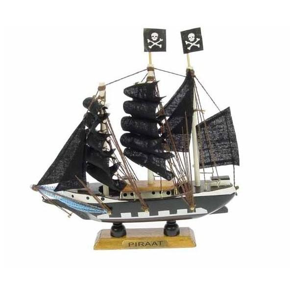 maquette voilier pirate 16 cm en bois achat vente d coration marine. Black Bedroom Furniture Sets. Home Design Ideas