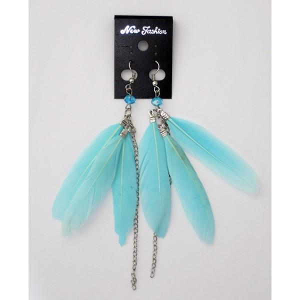 Boucles d 39 oreilles plumes petit prix achat vente - Porte boucle d oreille pas cher ...