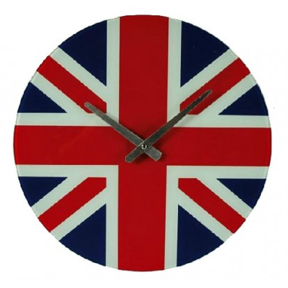 Pendule drapeau Anglais - Union Jack - London