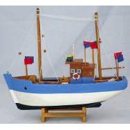 Maquette chalutier pêcheur 30 cm