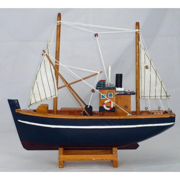 maquette chalutier de p che achat vente d coration marine pas cher. Black Bedroom Furniture Sets. Home Design Ideas