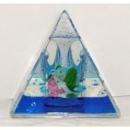Presse papier pyramide dauphin
