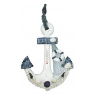 Thermomètre ancre de bateau 29 cm