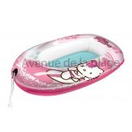 Bateau gonflable Hello Kitty pour enfant