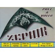 Cerf-volant dirigeable Zéphir 160 cm