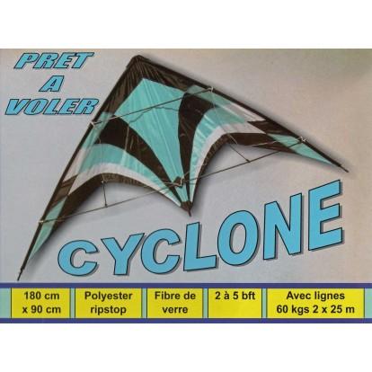 Cerf-volant dirigeable Cyclone 180 cm - prêt à voler.