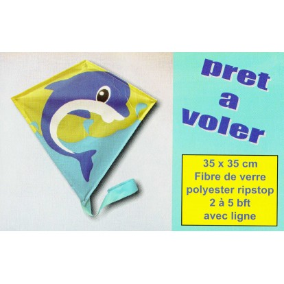 Petit cerf-volant monofil Diamond Dauphin à petit prix.