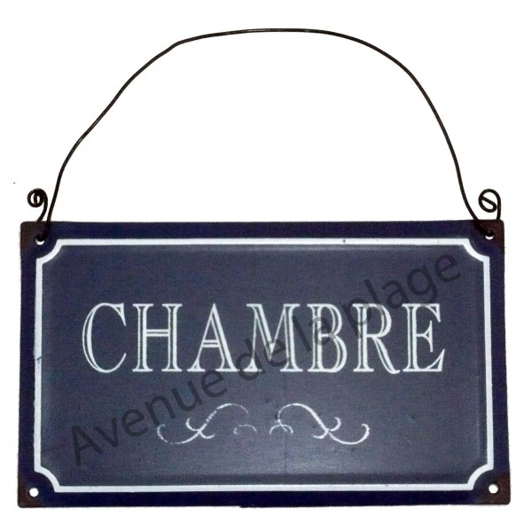 Plaque de porte style plaque de rue achat vente for Plaque de porte humoristique