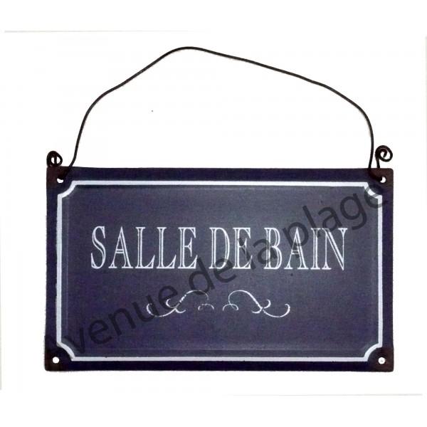 plaque de porte style plaque de rue achat vente d coration humoristique. Black Bedroom Furniture Sets. Home Design Ideas