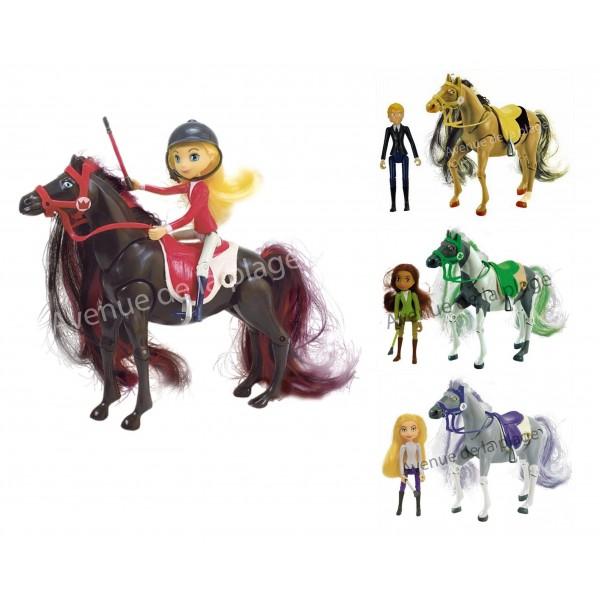 horseland ton heros et son cheval pas cher avenue de la plage. Black Bedroom Furniture Sets. Home Design Ideas