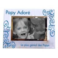"""Cadre photo """"Papy adoré"""""""