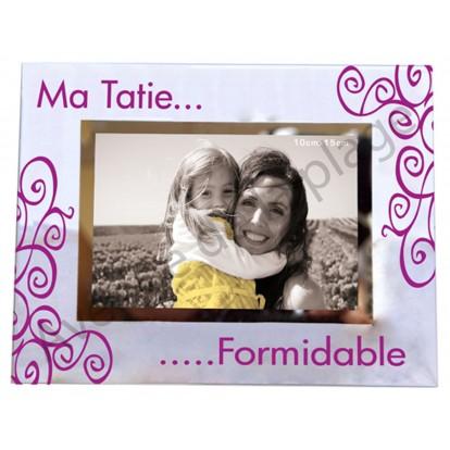 "Cadre photo ""Ma Tatie Formidable"""