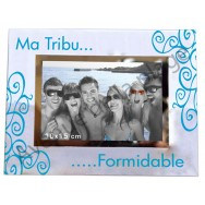 "Cadre photo ""Ma Tribu Formidable"""