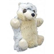 Marionnette peluche Loup
