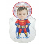Bavoir bébé humoristique Super Héros