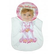 Bavoir bébé humoristique Un vrai petit Ange