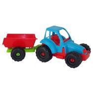 Tracteur + remorque 36 cm