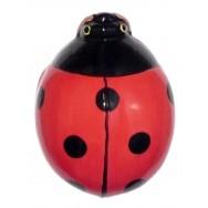 Coccinelle céramique 18 cm