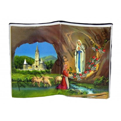 Livre ouvert Notre Dame de Lourdes