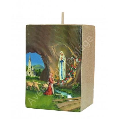 Bougeoir Notre Dame de Lourdes