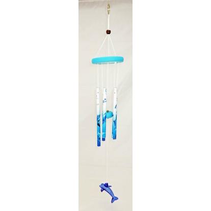 Carillon dauphin 55 cm - Décoration de jardin
