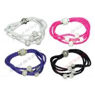 Bracelet Boules strass aimanté