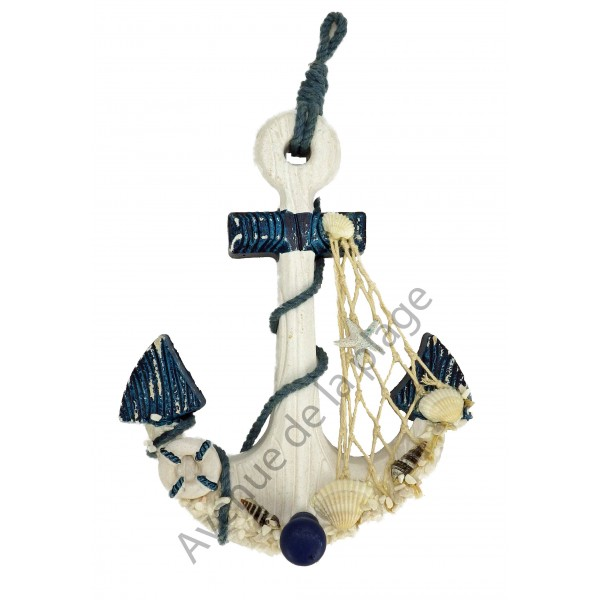 pat re ancre de bateau 29 cm pas cher achat vente avenue de la plage. Black Bedroom Furniture Sets. Home Design Ideas
