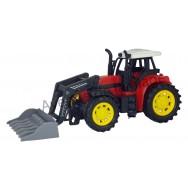 Tracteur avec chargeur 25 cm à friction