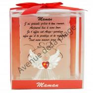 Figurine Ange gardien Maman