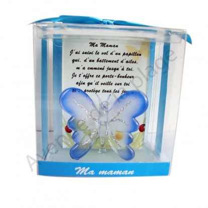 Figurine Papillon porte bonheur Ma Maman