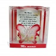Figurine Papillon porte bonheur Ma Mamie