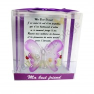 Figurine Papillon porte bonheur Ma Best Friend