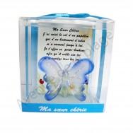 Figurine Papillon porte bonheur Ma Soeur