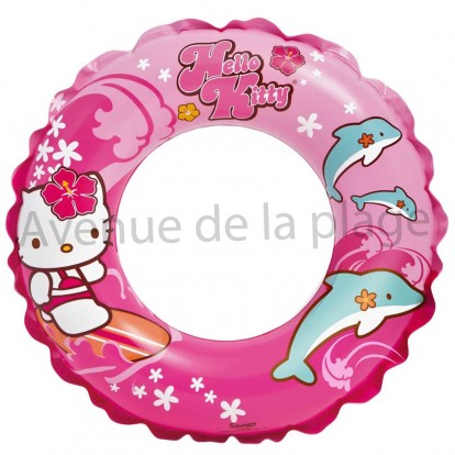 Bouée pour enfant 51 cm Hello Kitty