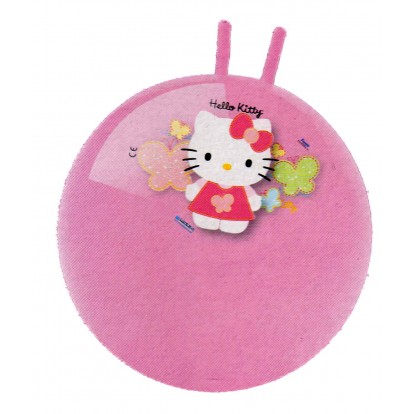 Ballon sauteur Hello Kitty 50 cm