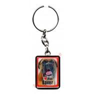 Porte clef chien J'aime mon Boxer