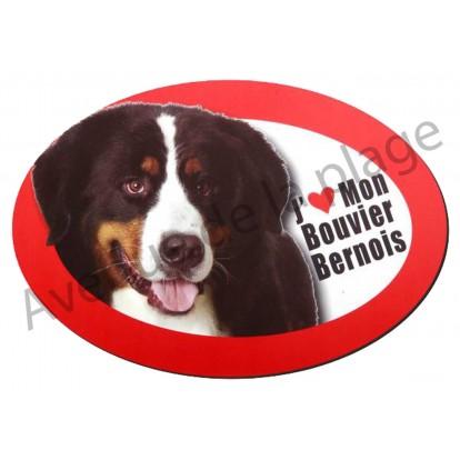 Magnet J'aime mon Bouvier Bernois