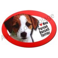 Magnet J'aime mon Parson Russel Terrier