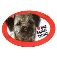 Magnet J'aime mon Border Terrier