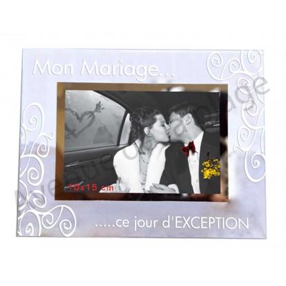 Cadre photo pas cher mon mariage achat vente avenue - Cadre photo original pas cher ...