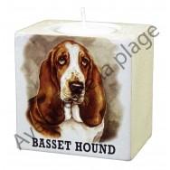 Bougeoir chien - Basset Hound
