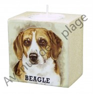 Bougeoir chien - Beagle