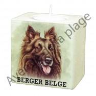 Bougeoir chien - Berger Belge