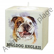 Bougeoir chien - Bulldog Anglais